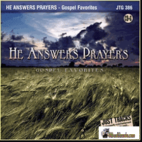 HE ANSWERS PRAYERS  Pocket Songs   Just Tracks   JTG 386