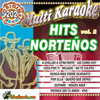 HITS NORTENOS VOLUME 2  Multi Karaoke MK OKE 202