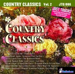 HITS OF COUNTRY CLASSICS  Vol.2     Just Tracks    JTG 086