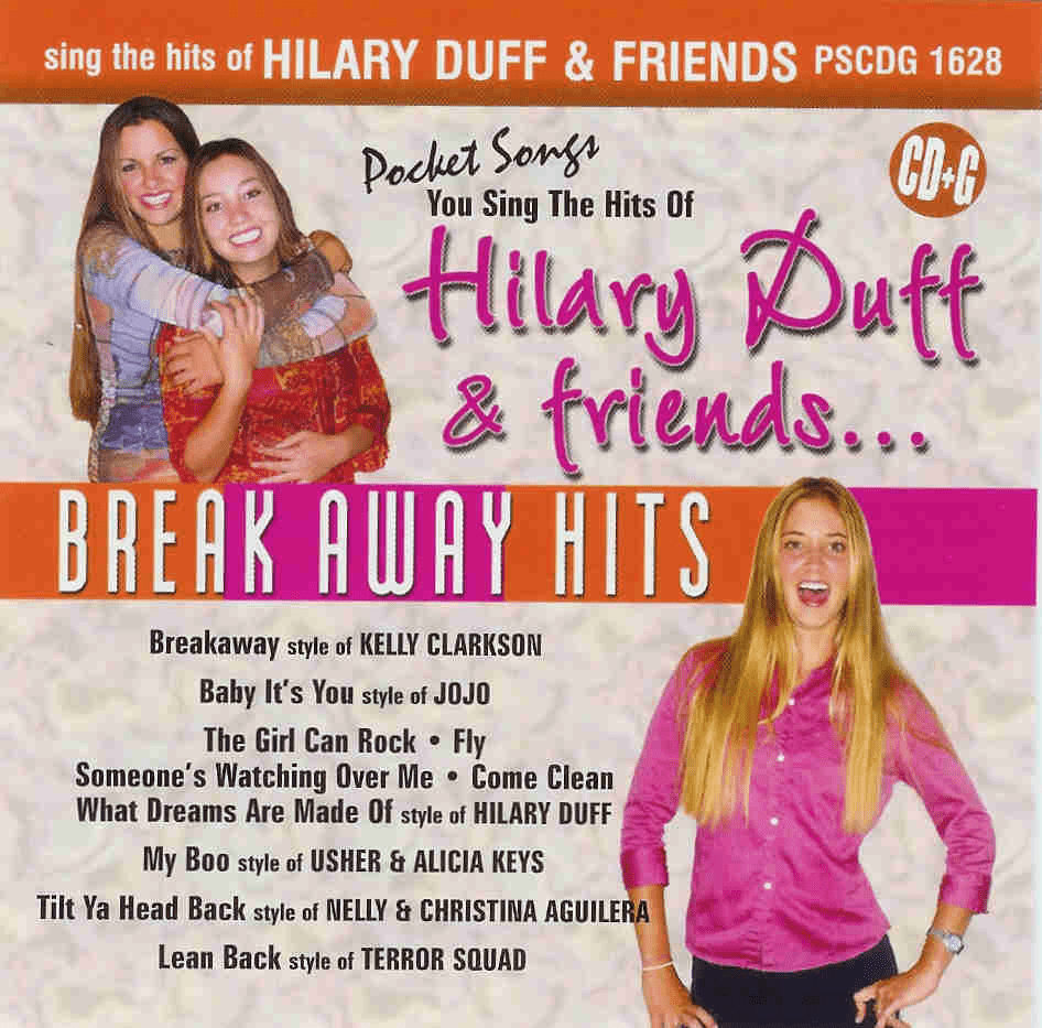 HITS OF HILARY DUFF & FRIENDS   Pocket Songs    PS 1628