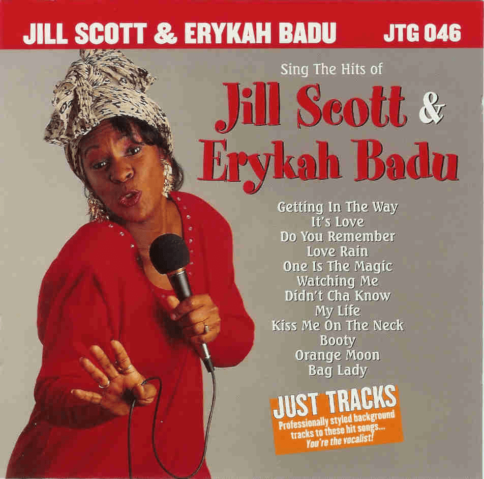 HITS OF JILL SCOTT & ERYKAH BADU   Just Tracks   JTG 046