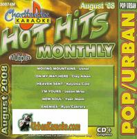 HOT HITS MONTHLY  AUGUST 2008   Pop/Urban  CB30074M