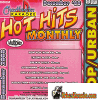 HOT HITS MONTHLY   POP/URBAN   DECEMBER 2008   ChartBuster   CB 30082M