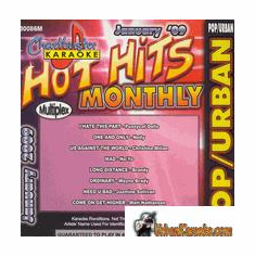 HOT HITS MONTHLY   POP/URBAN   JANUARY 2009   ChartBuster    CB 30086M