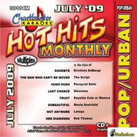 HOT HITS MONTHLY POP/URBAN  JULY 2009       Chartbuster    CB 30104