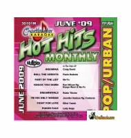 HOT HITS MONTHLY POP/ URBAN JUNE 2009    Chartbuster  CB 30101