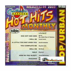 HOT HITS MONTHLY POP/URBAN MARCH 2009  Chartbuster  CB 30092M