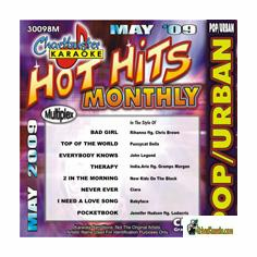 HOT HITS MONTHLY POP/URBAN MAY 2009      Chartbuster   CB 30098