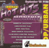 HOT HITS MONTHLY SEPTEMBER 2008  Pop/Urban CB 30076M