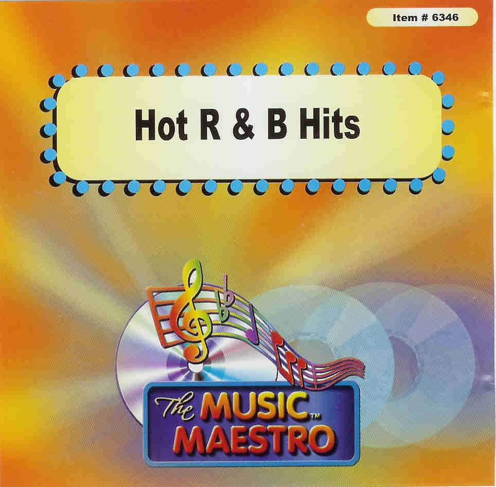 HOT R&B HITS   Music Maestro  MM 6346