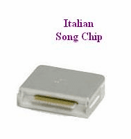 ITALIAN Song Chip        Magic Mic      104 Songs