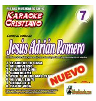 JESUS ADRIAN ROMERO  KARAOKE CRISTIANO    Magic Music   KCM 007