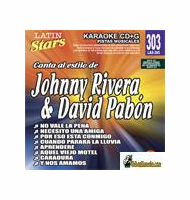JOHNNY RIVERA & DAVID RIVERA   Latin Stars   LAS 303