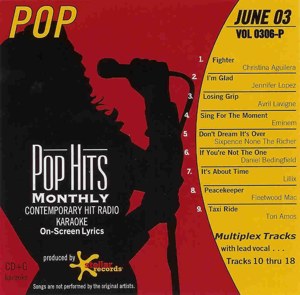 JUNE 2003 Vol. 0306     Pop Hits Monthly   P 0306