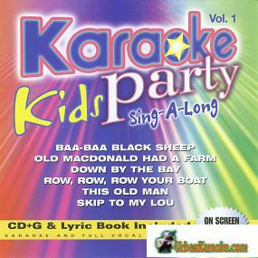 KIDS SING-A-LONG Vol. 1  Karaoke Party