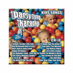 """KIDS SONGS     Party Tyme Karaoke  SYB1077<center><B><font color=""""red"""" font size=""""2"""">OUT OF STOCK</font></B></center>"""