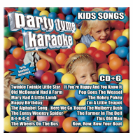 "KIDS SONGS     Party Tyme Karaoke  SYB1077<center><B><font color=""red"" font size=""2"">OUT OF STOCK</font></B></center>"