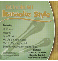 Songs Of Redemption Volume 1 Christian Karaoke Style New Cd+g Daywind 6 Songs To Have A Long Historical Standing Musical Instruments & Gear