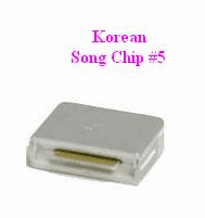 KOREAN Song Chip #5         Magic Mic        1,000 Songs