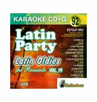 LATIN OLDIES DEL RECUERDO Vol. 19   Latin Party  LP 1092