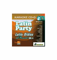LATIN OLDIES Vol. 6     Latin Party  CDTZLP 1031