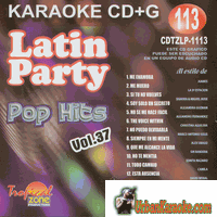 LATIN POP HITS  VOL 37  Latin Party 113  CDTZLP 1113