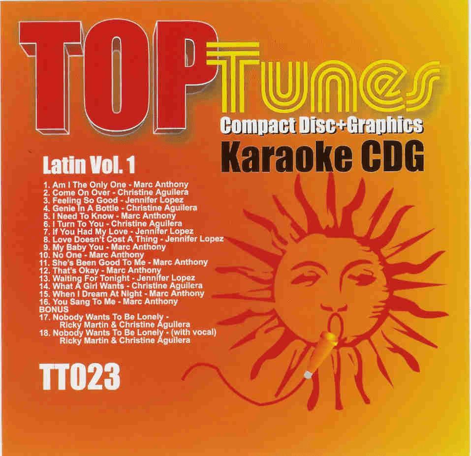 LATIN Vol. 1   Top Tunes    TT 023