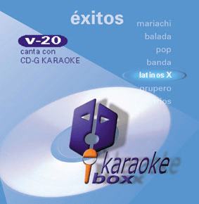LATINOS Vol. 20    Karaoke Box  KB 20