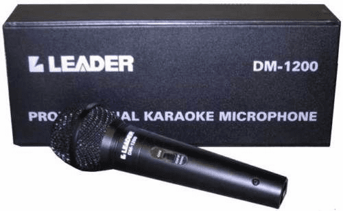 Leader DM 1200 Mic with Cord