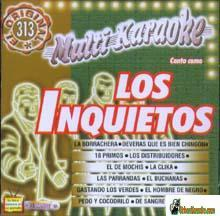 LOS INQUIETOS  Vol.3      Multi Karaoke     MK 356
