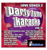LOVE SONGS 2       Party Tyme Karaoke    SYB1096