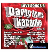 LOVE SONGS 3         Party Tyme Karaoke      SYB1093