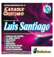 LUIS SANTIAGO  KARAOKE CRISTIANO    Magic Music   KCM 010