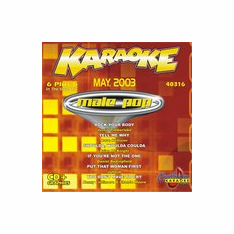 MALE POP   May 2003   ChartBuster 6 Plus 6   CB 40316