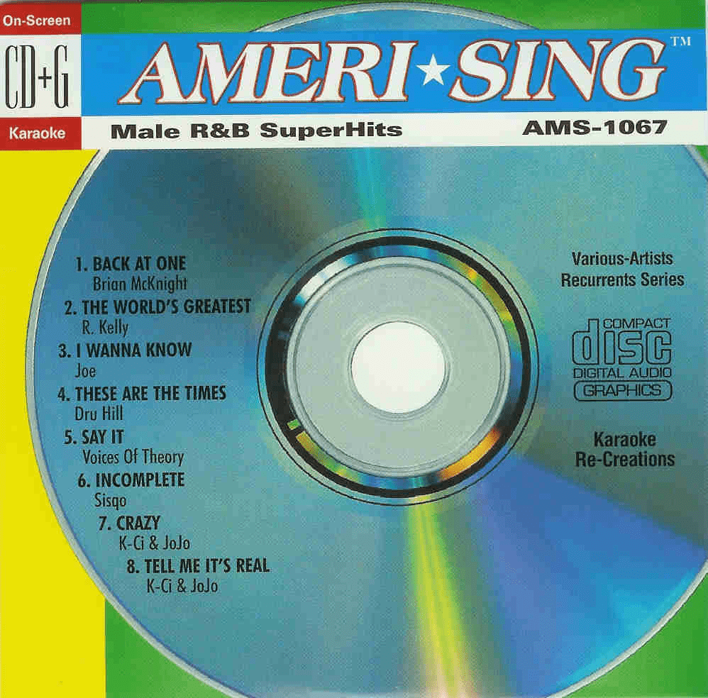 MALE R&B SUPERHITS  Ameri*sing  AMS 1067