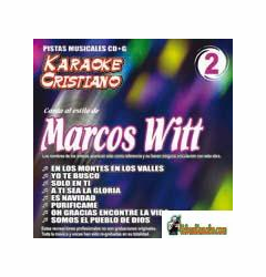 MARCOS WITT KARAOKE CRISTIANO    Magic Music   KCM 002