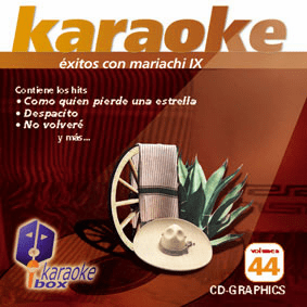 MARIACHI IX Vol. 44    Karaoke Box  KB 44