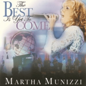 MARTHA MUNIZZI THE BEST IS YET TO COME - Original CD