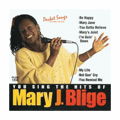 """MARY J. BLIGE    Pocket Songs  PS1230  <font color=""""red"""">(No On Screen Lyrics Music Only)</font>"""