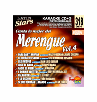 MERENGUE Vol. 4    Latin Stars  LAS 318