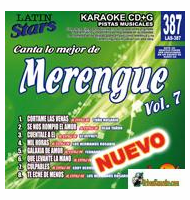 MERENGUE Vol. 7   Latin Stars  LAS 387