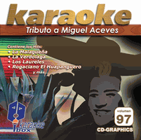 MIGUEL ACEVES  Vol. 97    Karaoke Box   KB 097