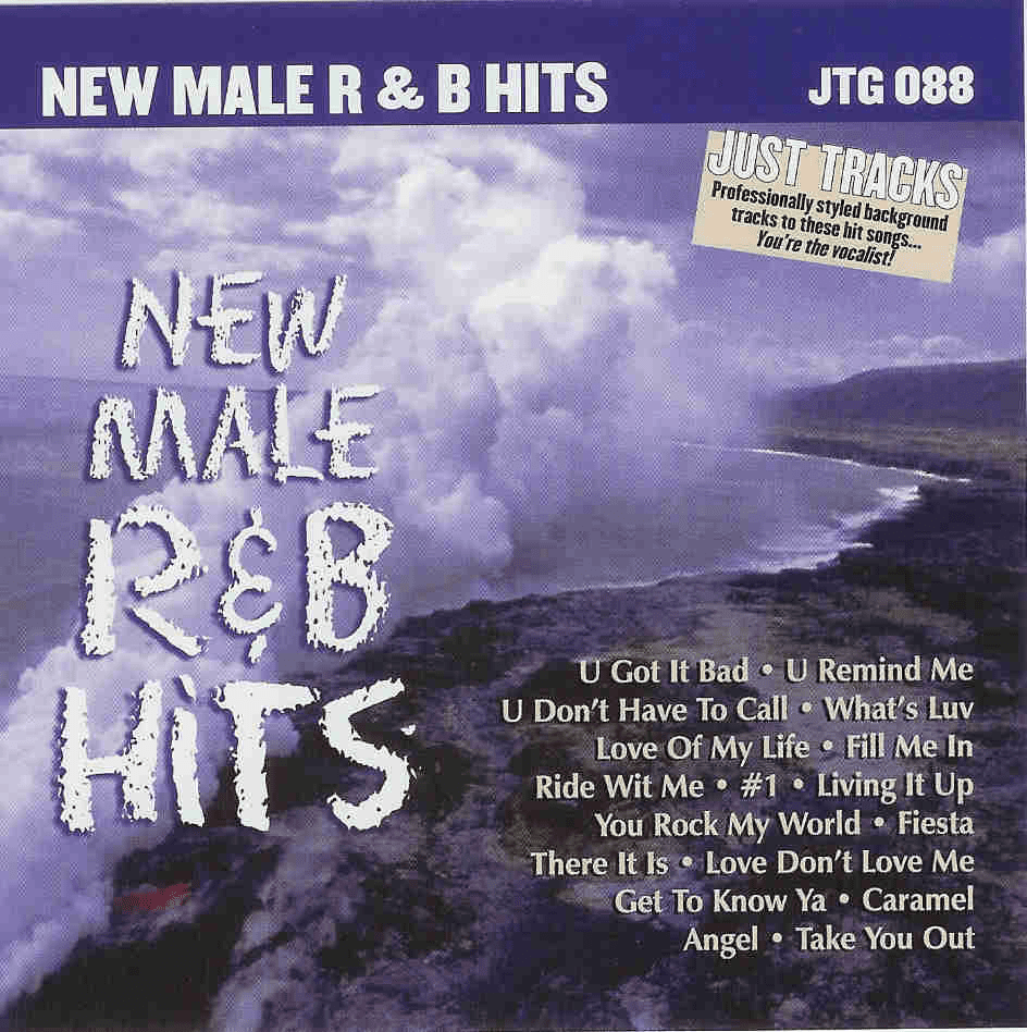 NEW MALE R&B HITS      Just Tracks     JTG088