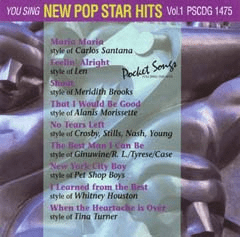 NEW POP STAR HITS   Vol. 1          Pocket Songs      PS1475