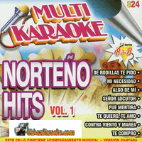 NORTENO HITS VOLUME 1  Multi Karaoke  MK OKE 824