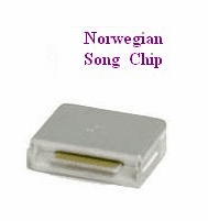 NORWEGIAN Song Chip        Magic Mic      162 Songs