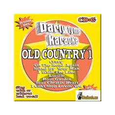 OLD COUNTRY 1   Party Tyme Karaoke  SYB 1609