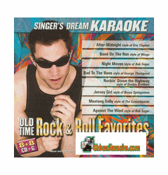 OLD TIME ROCK & ROLL FAVORITES  Singer's Dream  SDK 9067