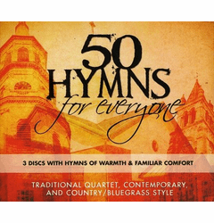 """<center><B><font color=""""red"""" font size=""""2"""">OUT OF STOCK</font></B></center> 50 HYMNS FOR EVERYONE 3 DISC SET - Original CD"""