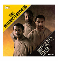 """<center><B><font color=""""red"""" font size=""""2"""">OUT OF STOCK</font></B></center> THE WILLIAMS BROTHERS GREATEST HITS VOL 1  - Original CD"""